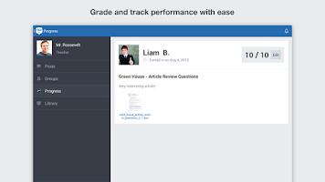 Screenshot of Edmodo