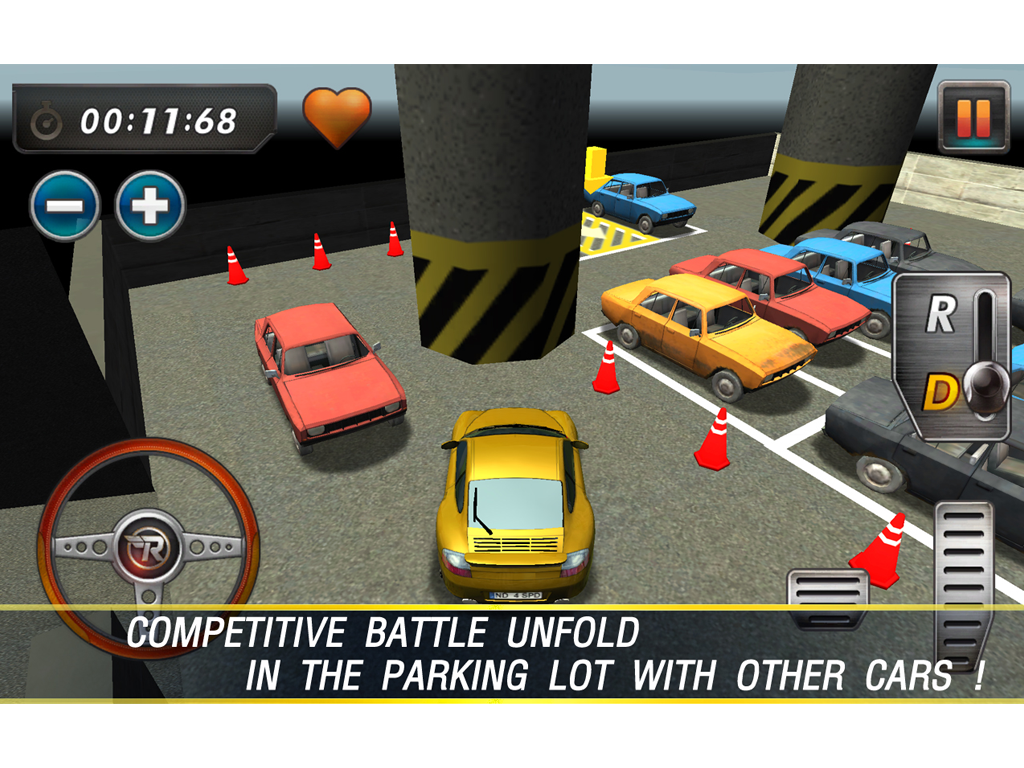 RealParking3D Parking Games - screenshot