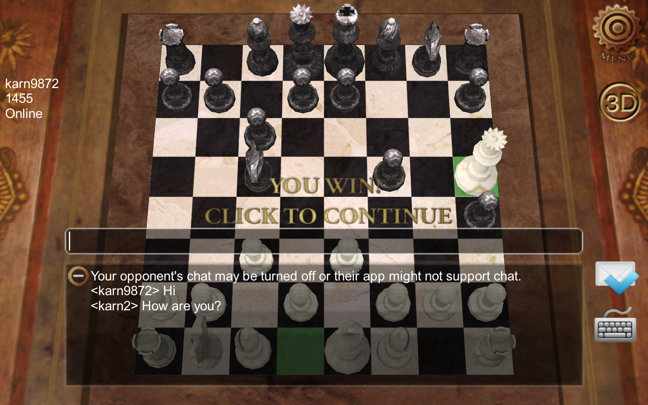 E.G. Chess - screenshot