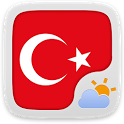 Turkish Language GOWeatherEX icon