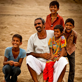Happy family by Devesh Kalla - People Family