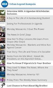 Urban Legend Kampala- screenshot thumbnail