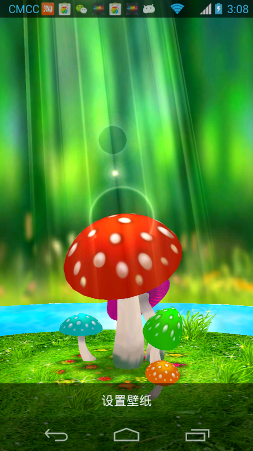 Download Mushrooms 3D Live Wallpaper for PC  choilieng.com
