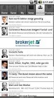 Screenshot of BörseExpress