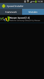 Wanam Xposed Screenshot 1