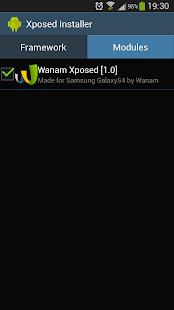 Wanam Xposed- screenshot thumbnail