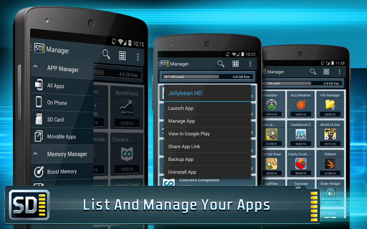 App Manager for Android- screenshot