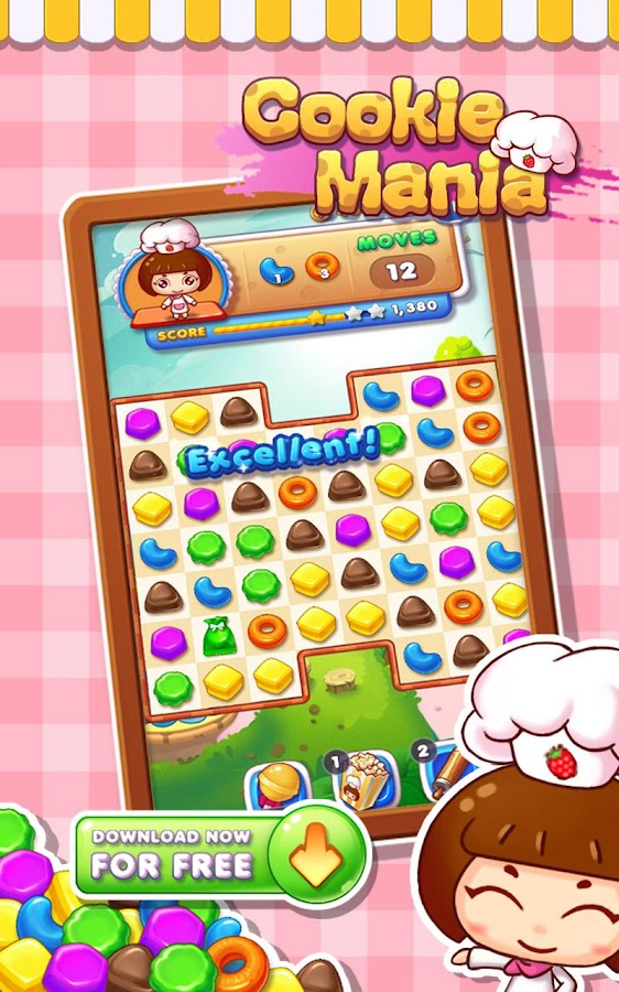 Cookie Mania - Sweet Game- screenshot