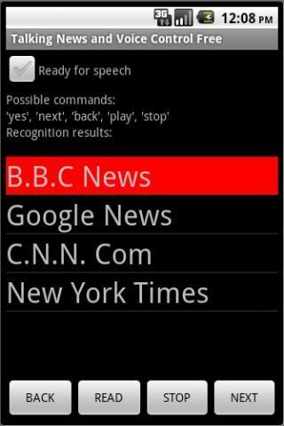 HandsFree News Rss Reader DEMO