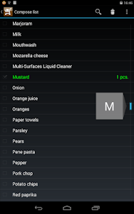 Weekly Shopping List screenshot 10