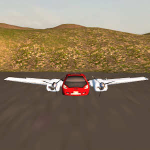 Flying Car Free: Mountain Fly for PC and MAC