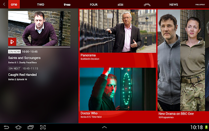 BBC iPlayer Screenshot 3