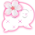 GO SMS THEME|CherryBlossoms logo