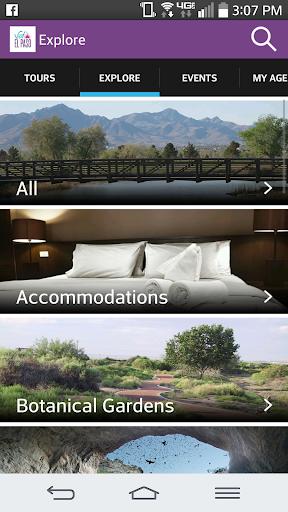 The Official Visit El Paso App