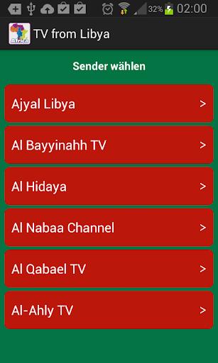 電視從利比亞