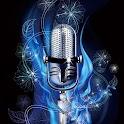 3D  Microphone logo