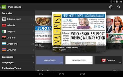 PressReader (preinstalled) Screenshot 32