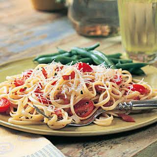 Bacon-Tomato Linguine.