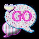 GO SMS THEME/PolkaDotFur4U icon