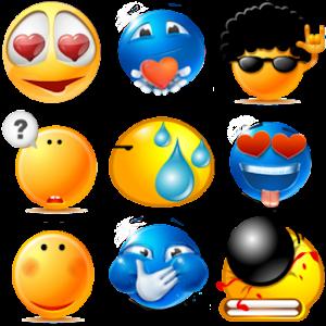 表情符號表情符號 娛樂 App LOGO-硬是要APP