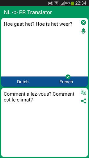 Dutch French Translator