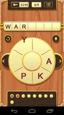 Word Wheel - screenshot