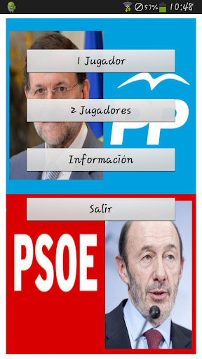 Rajoy Vs. Rubalcaba