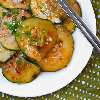 Oi Muchim (Spicy Korean Cucumber Salad).