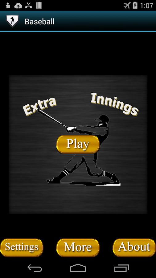 Hide My Calls/Text- Baseball- screenshot