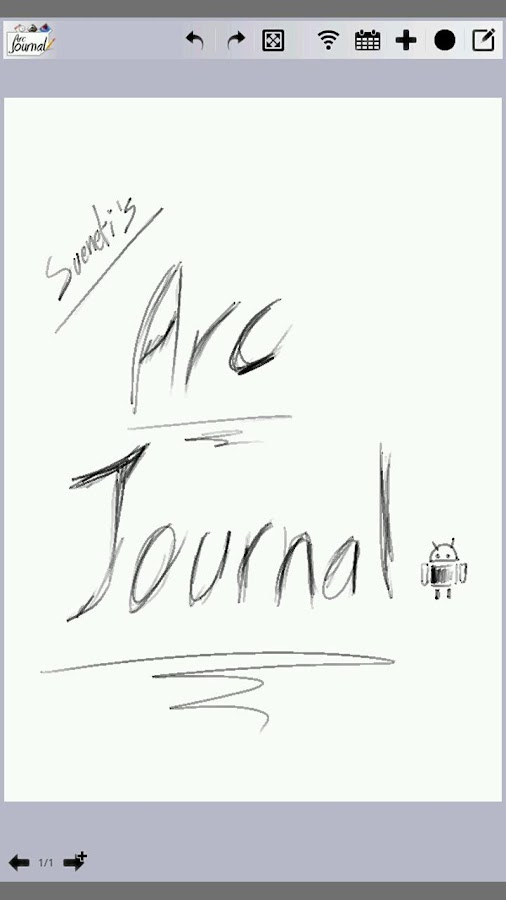 Arc Journal - screenshot