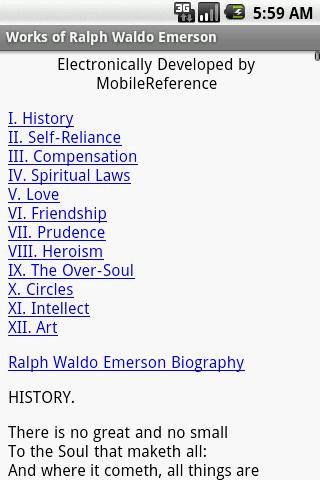 friendship essay by ralph waldo emerson summary