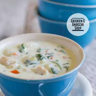 Chicken and Gnocchi Soup.