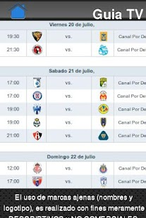 Liga MX en TV - screenshot thumbnail
