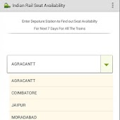 Indian Rail Seat Availability