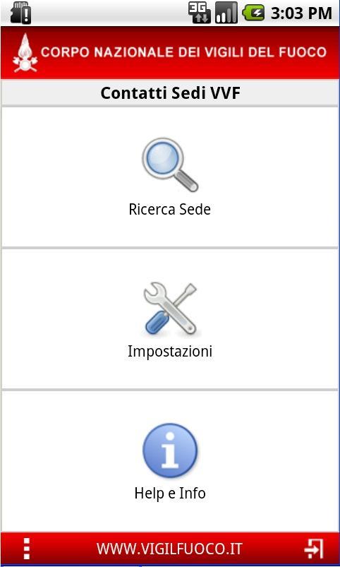 VVF Contatti- screenshot