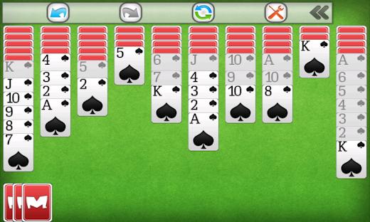 jetzt spielen spider solitaire