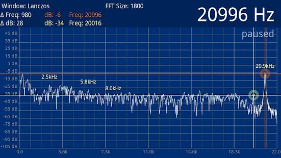 Speedy Spectrum Analyzer – Miniaturansicht des Screenshots
