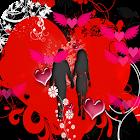 Valentine Love Live Wallpaper Free icon