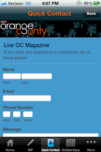 OC Live Magazine- screenshot thumbnail