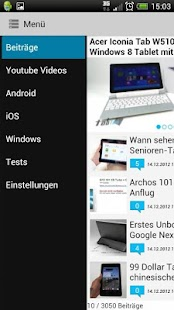tabtech.de (Spenden) - screenshot thumbnail
