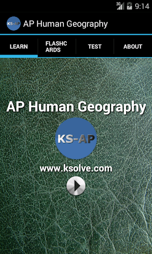 AP Human Geography - part1
