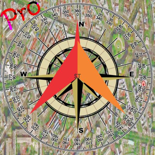 指南針+谷歌地圖