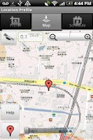 Screenshot of Location Profile