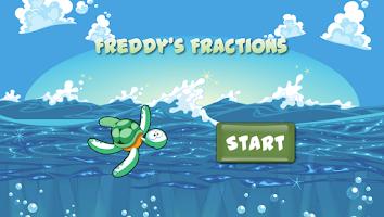 Screenshot of Freddy's Fractions