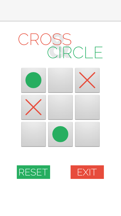 Cross and Circle - screenshot