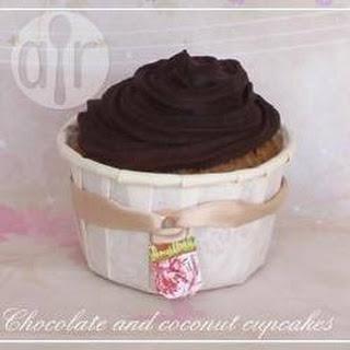 Choco-Coco Cupcakes Recipe