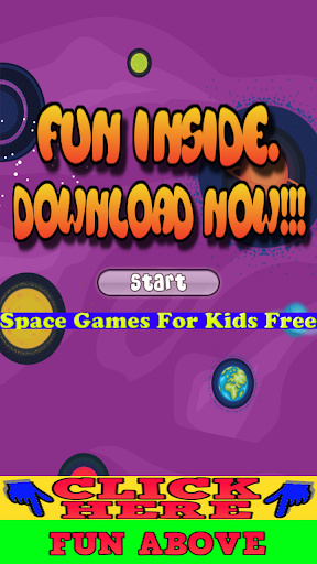 Space Games For Kids Free
