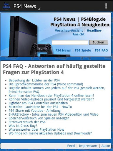 PS4 News deutsch