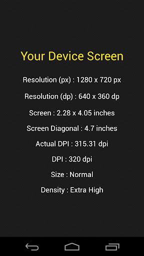 Check Screen