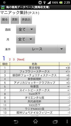 俺の競馬データベース 競馬収支簿 WIN5対応